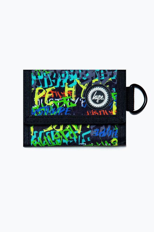 czarny Hype - Portfel Męski