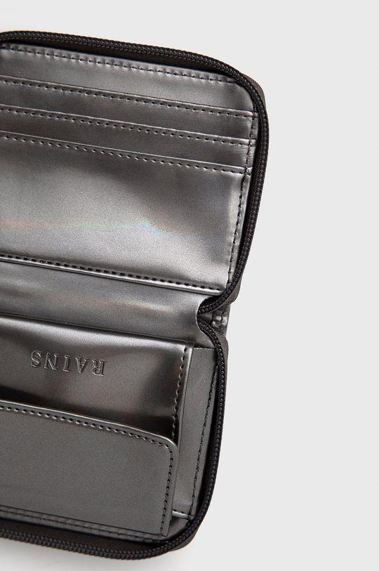 Rains - Portfel 1627 Small Wallet srebrny