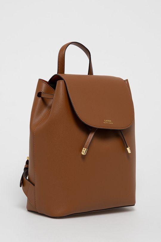 Lauren Ralph Lauren - Plecak skórzany 100 % Skóra naturalna
