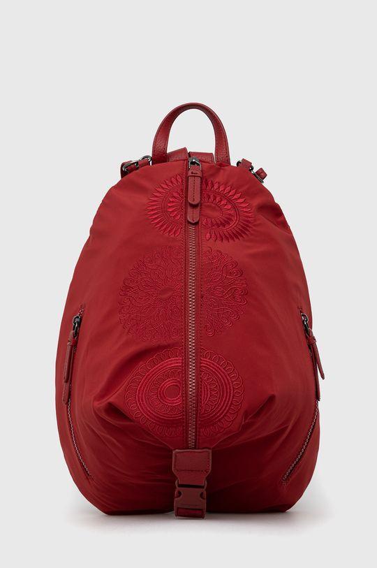 czerwony Desigual - Plecak Damski