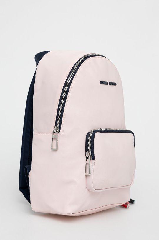 Tommy Jeans - Batoh pastelově růžová