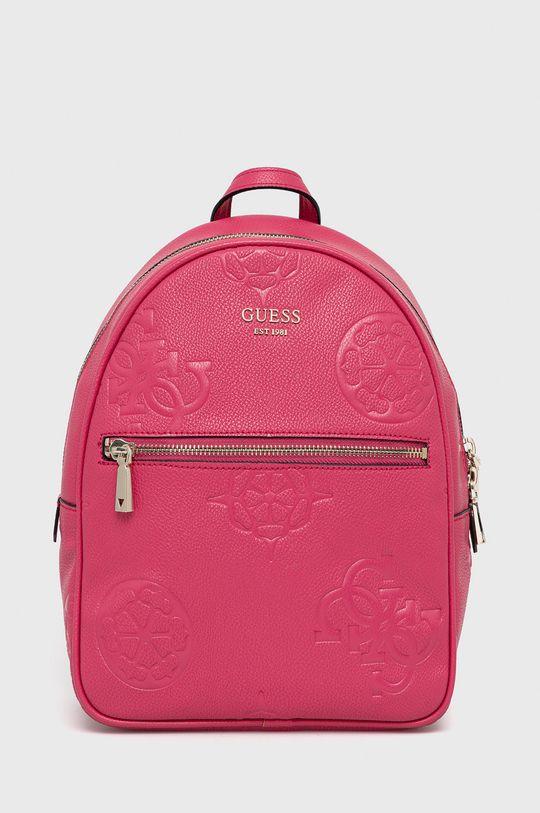 ostry różowy Guess - Plecak Damski