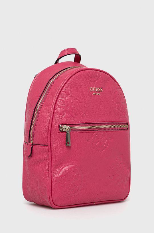 Guess - Plecak ostry różowy