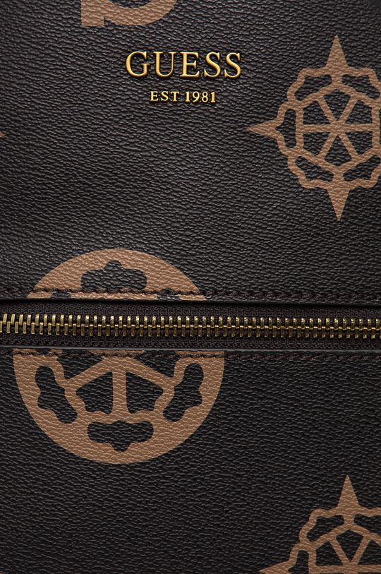 Guess - Plecak ciemny brązowy