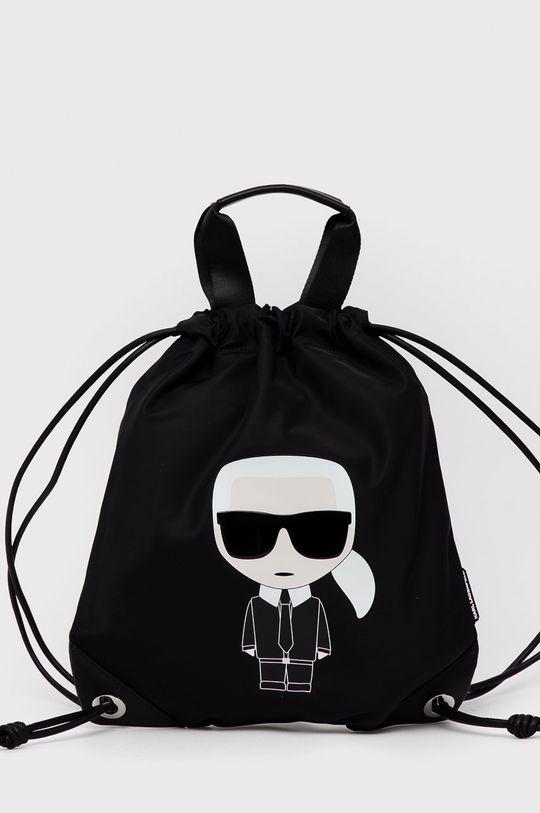 czarny Karl Lagerfeld - Plecak Damski