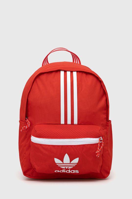 czerwony adidas Originals - Plecak Damski