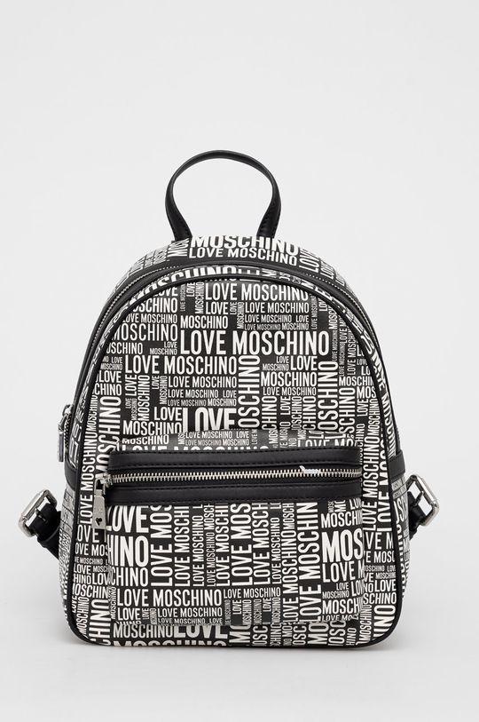 czarny Love Moschino - Plecak Damski