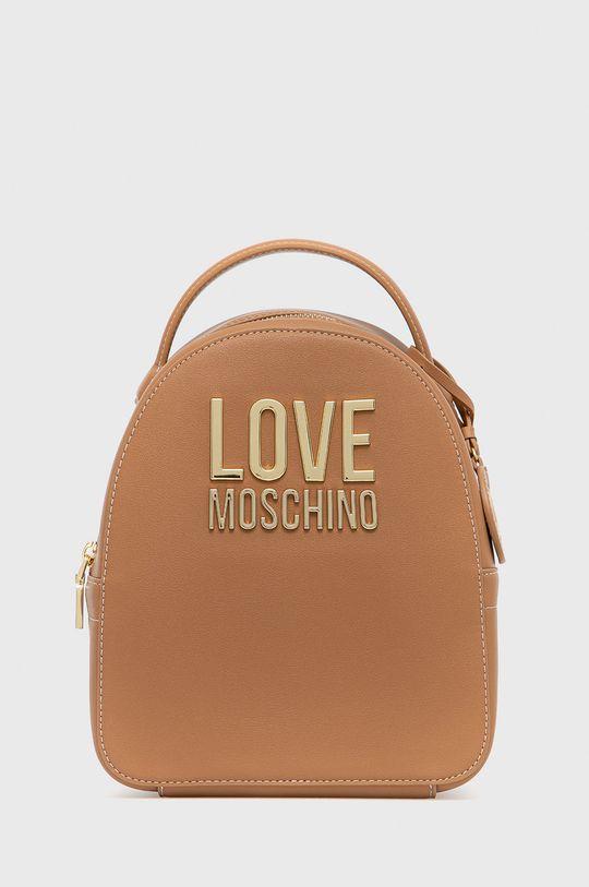 zlatohnědá Love Moschino - Batoh Dámský