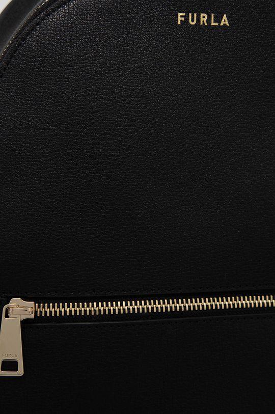 Furla - Kožený ruksak Libera čierna