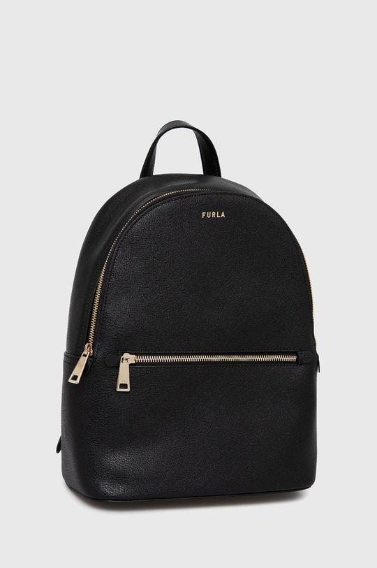 Furla - Kožený ruksak Libera  Podšívka: 100% Polyester Základná látka: 100% Prírodná koža