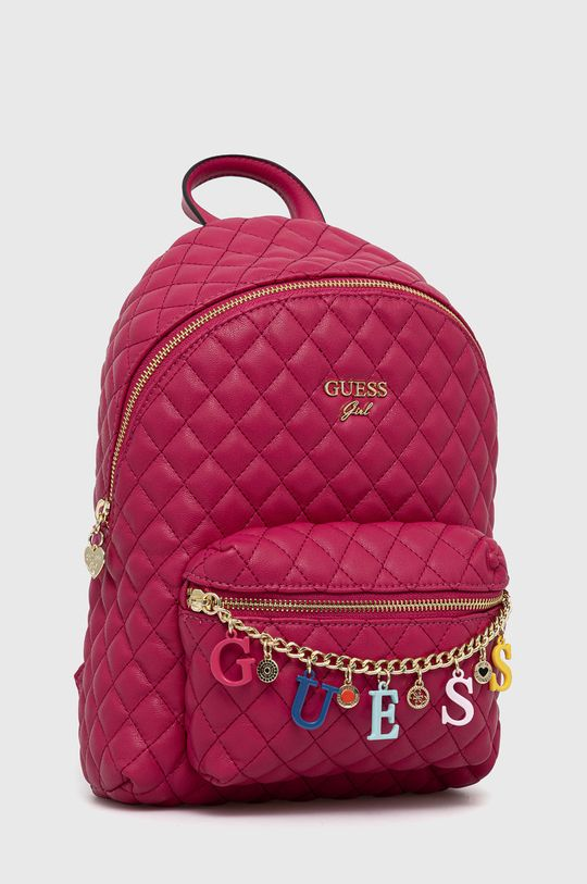 Guess - Plecak dziecięcy fuksja