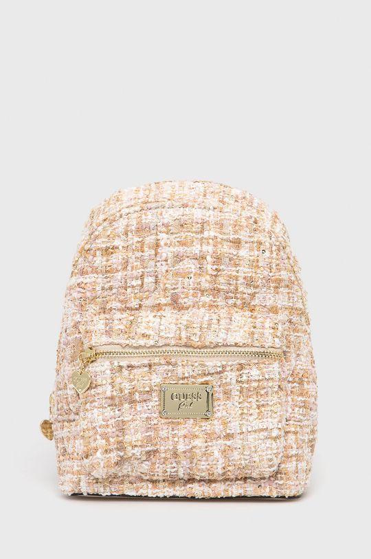 beżowy Guess - Plecak dziecięcy Dziewczęcy