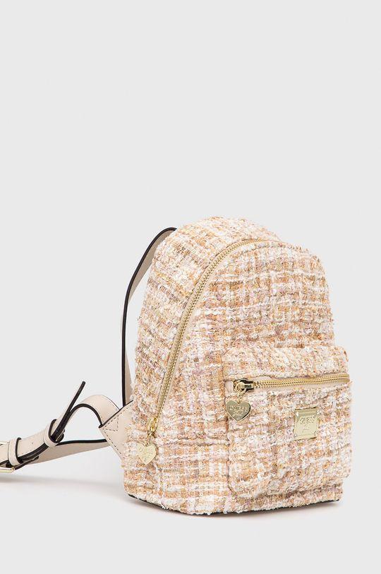 Guess - Plecak dziecięcy Podszewka: 100 % Poliester, Materiał zasadniczy: 100 % Poliester, Inne materiały: 100 % Poliuretan