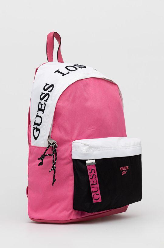 Guess - Plecak dziecięcy Podszewka: 100 % Poliester, Materiał zasadniczy: 90 % Poliester, 10 % Poliuretan