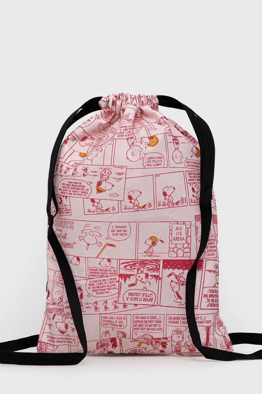 Puma - Plecak dziecięcy x Peanuts różowy