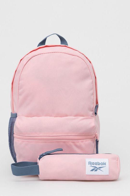 różowy Reebok - Plecak dziecięcy Dziecięcy