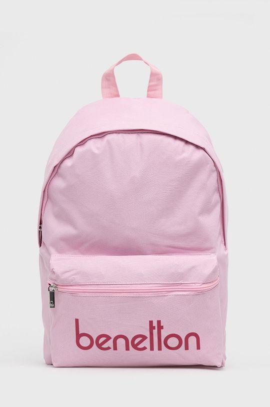 różowy United Colors of Benetton - Plecak dziecięcy Dziecięcy