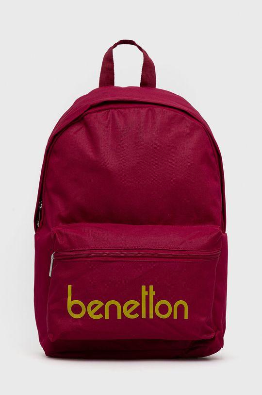 purpurowy United Colors of Benetton - Plecak dziecięcy Dziecięcy