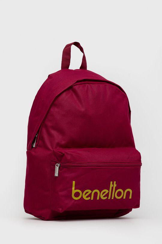 United Colors of Benetton - Plecak dziecięcy purpurowy