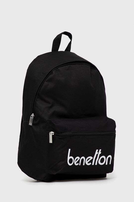 United Colors of Benetton - Plecak dziecięcy czarny