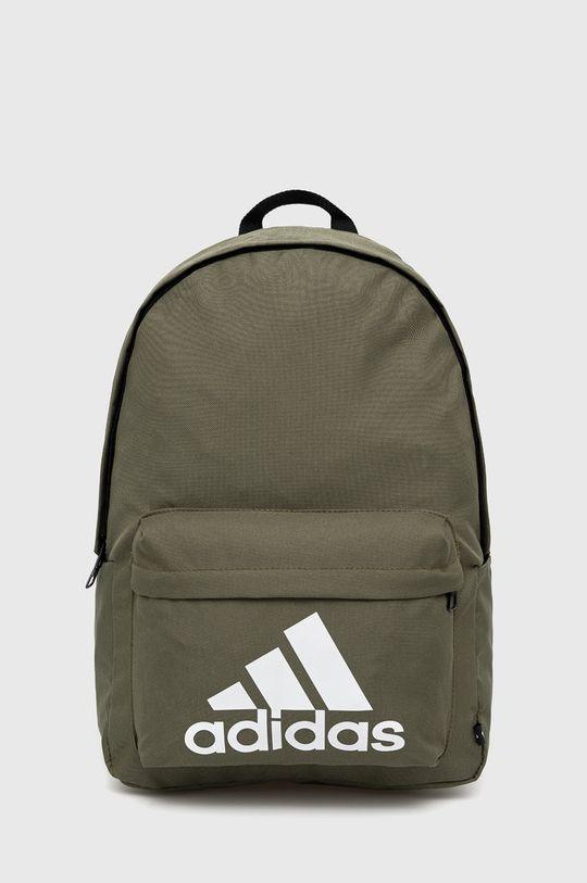 oliwkowy adidas - Plecak Męski