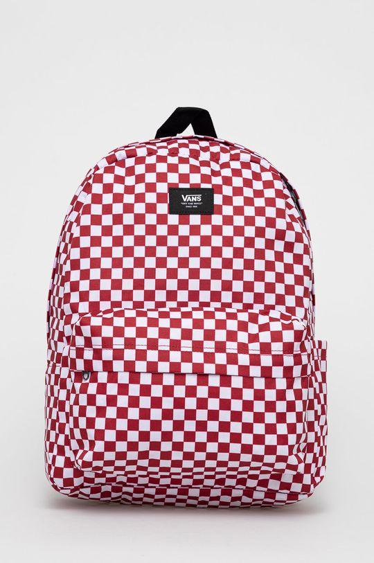 czerwony Vans - Plecak Męski