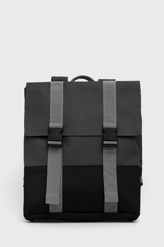 grafitowy Rains - Plecak 1371 Buckle MSN Bag Unisex