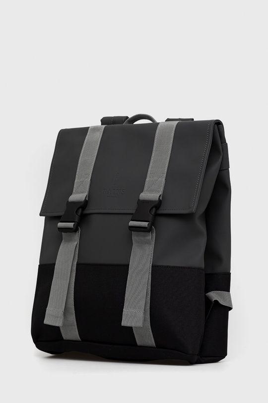 Rains - Plecak 1371 Buckle MSN Bag grafitowy