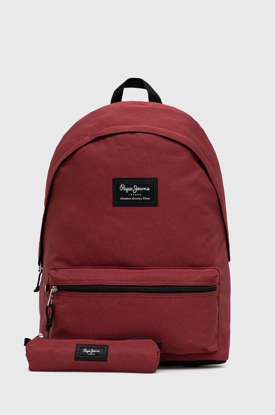 czerwony Pepe Jeans - Plecak Aris Unisex