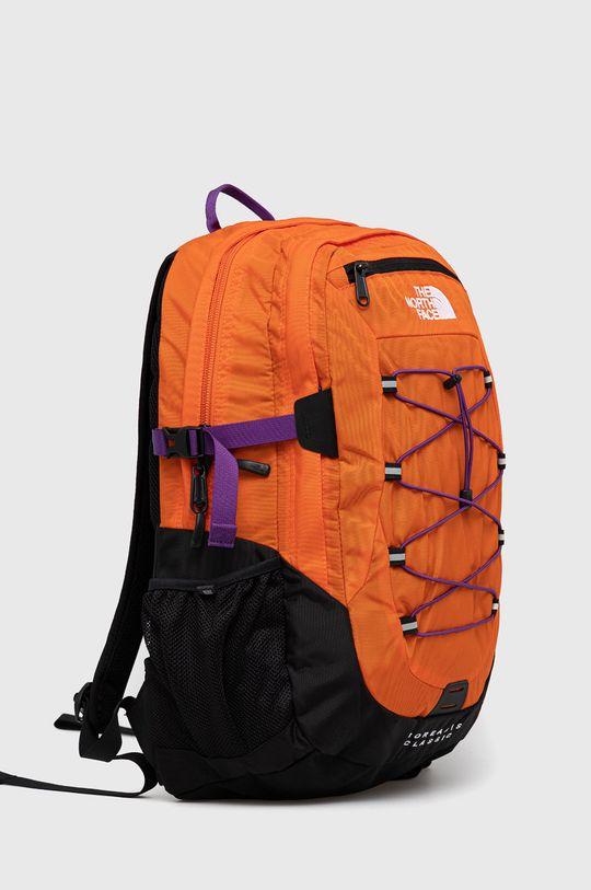 The North Face - Plecak pomarańczowy