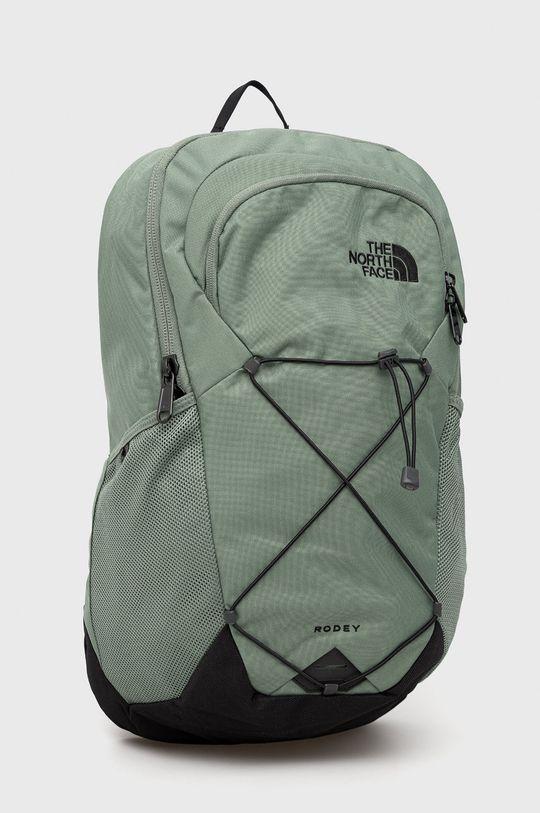 The North Face - Plecak brudny zielony