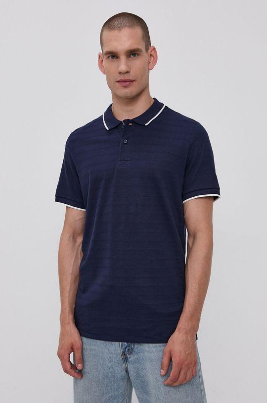 námořnická modř Tom Tailor - Polo tričko Pánský