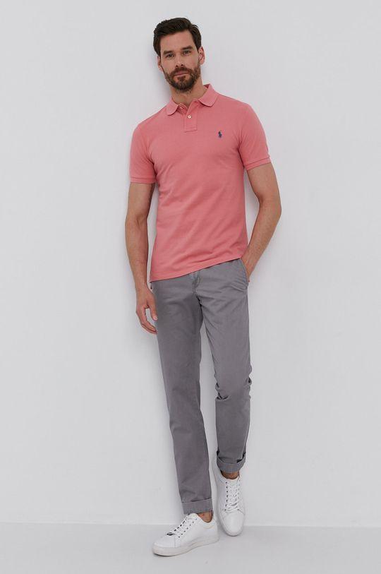 staroružová Polo Ralph Lauren - Polo tričko Pánsky