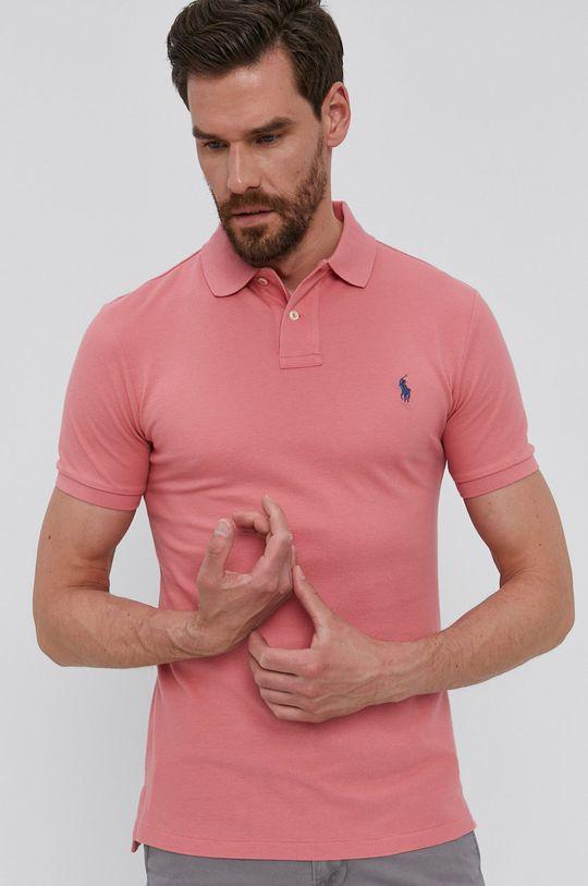 Polo Ralph Lauren - Polo tričko staroružová