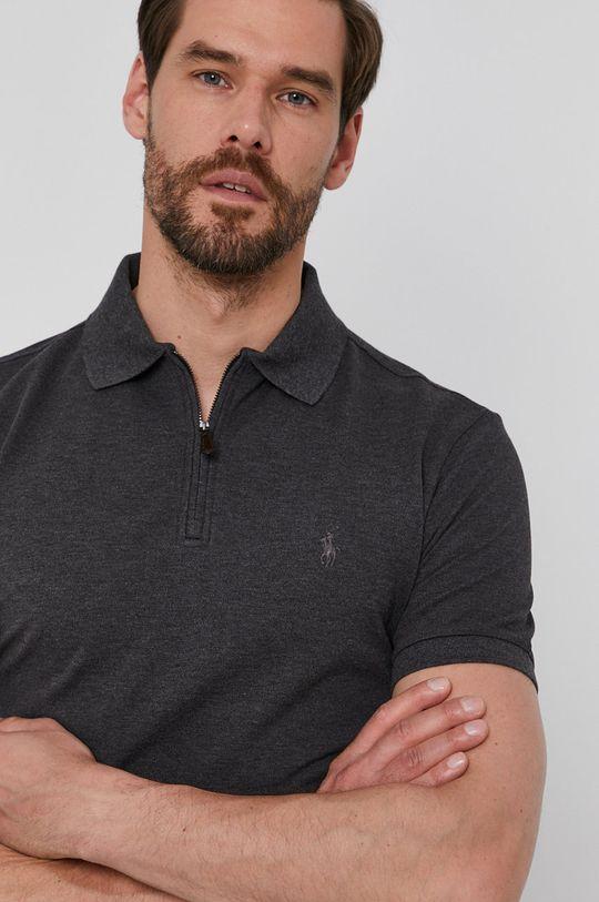 grafitová Polo Ralph Lauren - Polo tričko