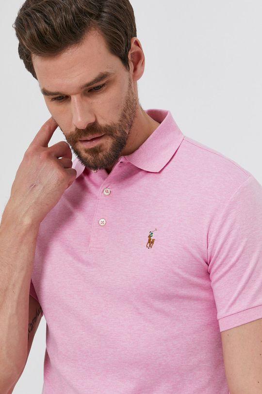 růžová Polo Ralph Lauren - Polo tričko