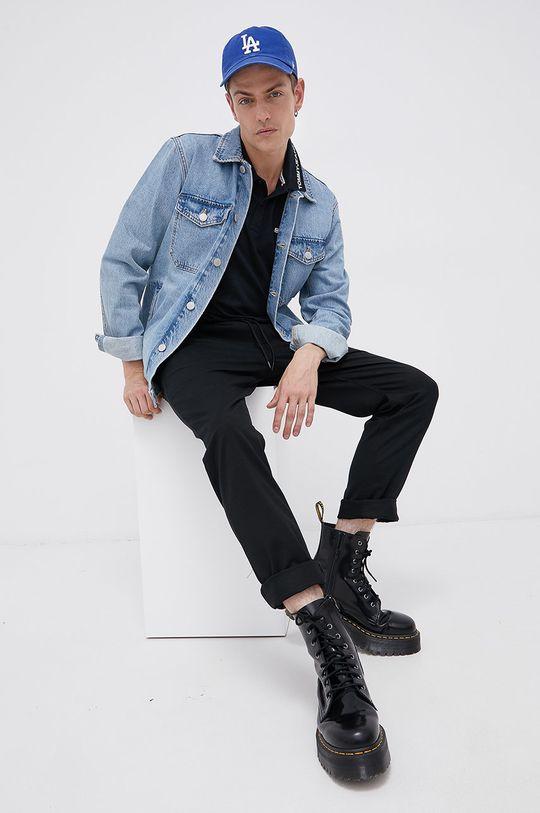 Tommy Jeans - Polo czarny