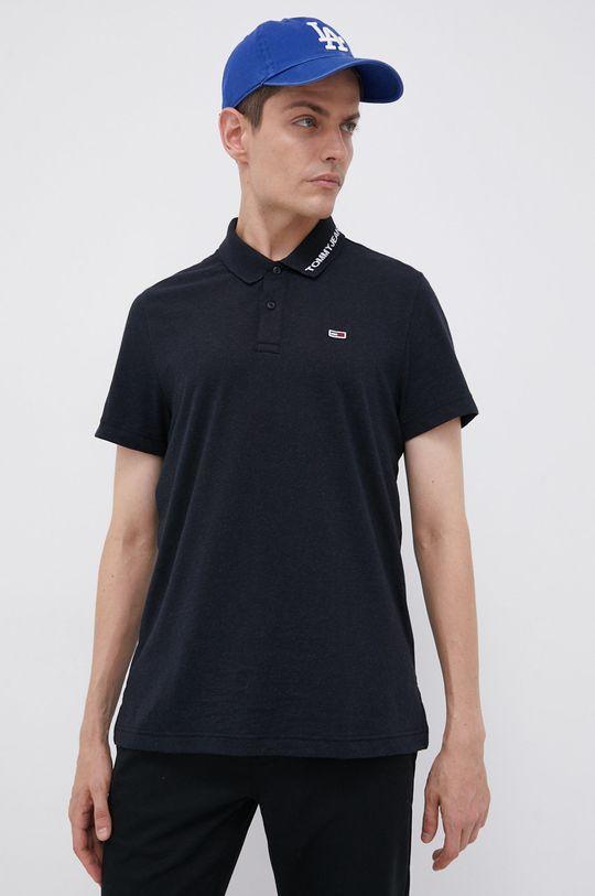 czarny Tommy Jeans - Polo