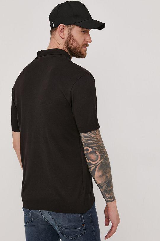 Hugo - Polo tričko  49% Bavlna, 1% Elastan, 50% Modal