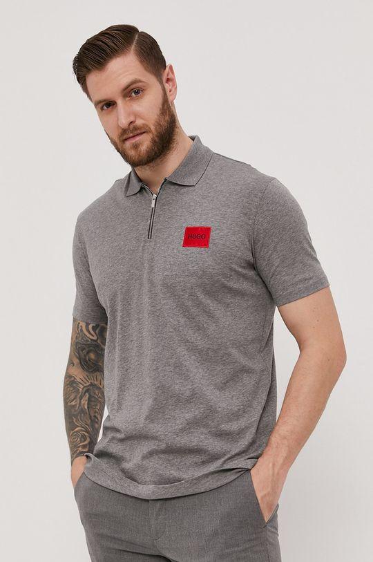 gri Hugo - Tricou Polo De bărbați
