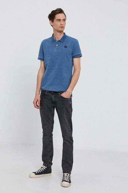 Pepe Jeans - Tričko MAURO modrá
