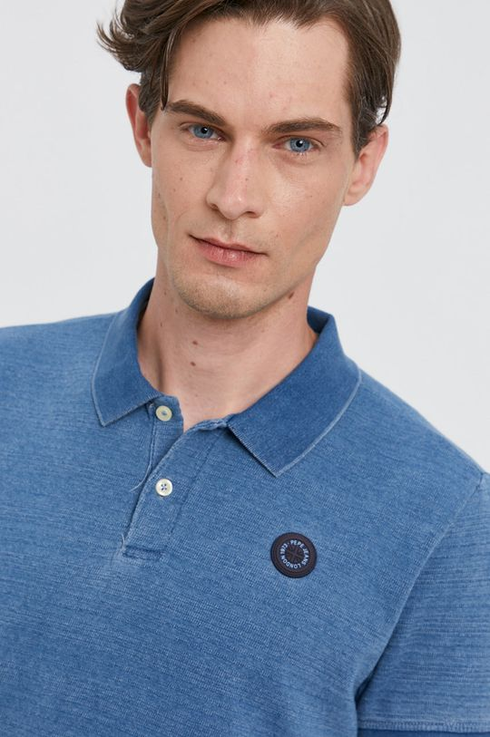 modrá Pepe Jeans - Tričko MAURO