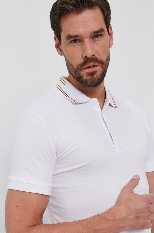 alb Guess - Tricou Polo