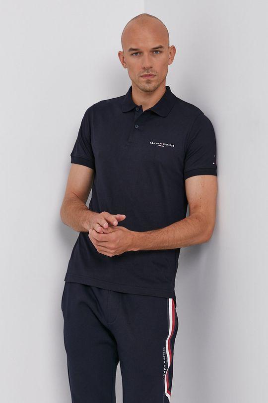 námořnická modř Tommy Hilfiger - Polo tričko Pánský