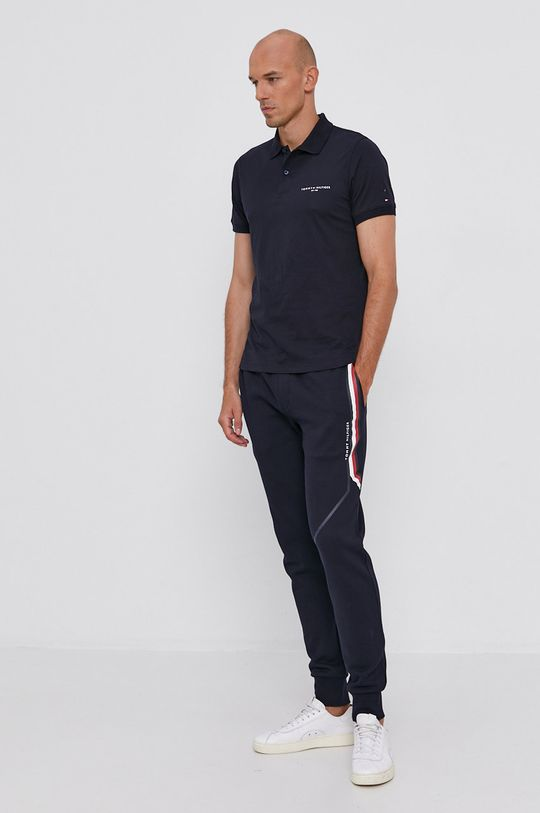 Tommy Hilfiger - Polo tričko námořnická modř