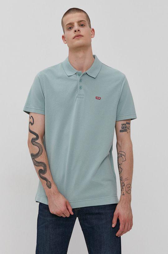 tyrkysová Levi's - Polo tričko