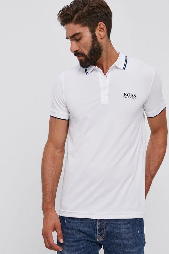 biela Boss - Polo tričko Athleisure Pánsky