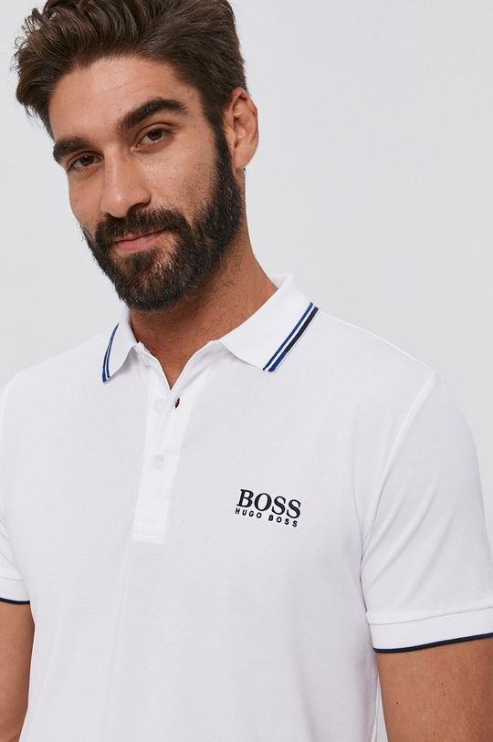 biela Boss - Polo tričko Athleisure