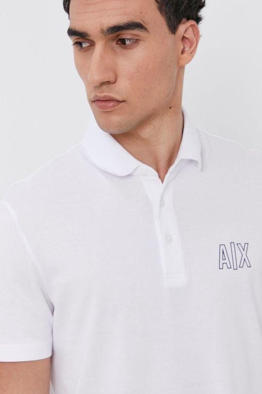 biały Armani Exchange - Polo