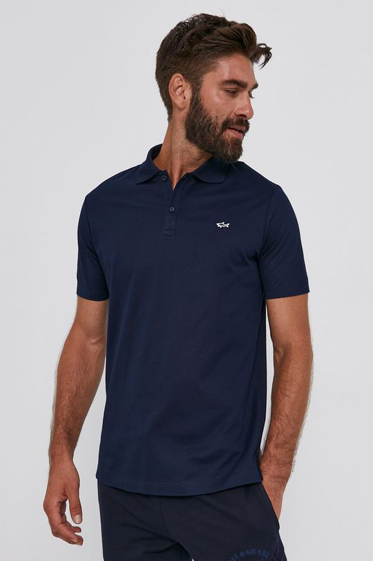 námořnická modř PAUL&SHARK - Polo tričko Pánský